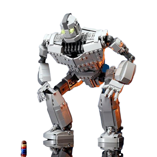 MOC 14898 The Iron Giant with 818 pieces