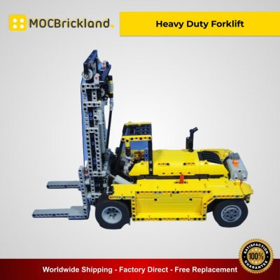Heavy Duty Forklift MOC 2298 Technic Compatible With LEGO 42009 Designed By Dalafik