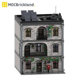 Home Sweet Home MOC 41871 Modular Building Designed By M4rchino84 With 5364 Pieces