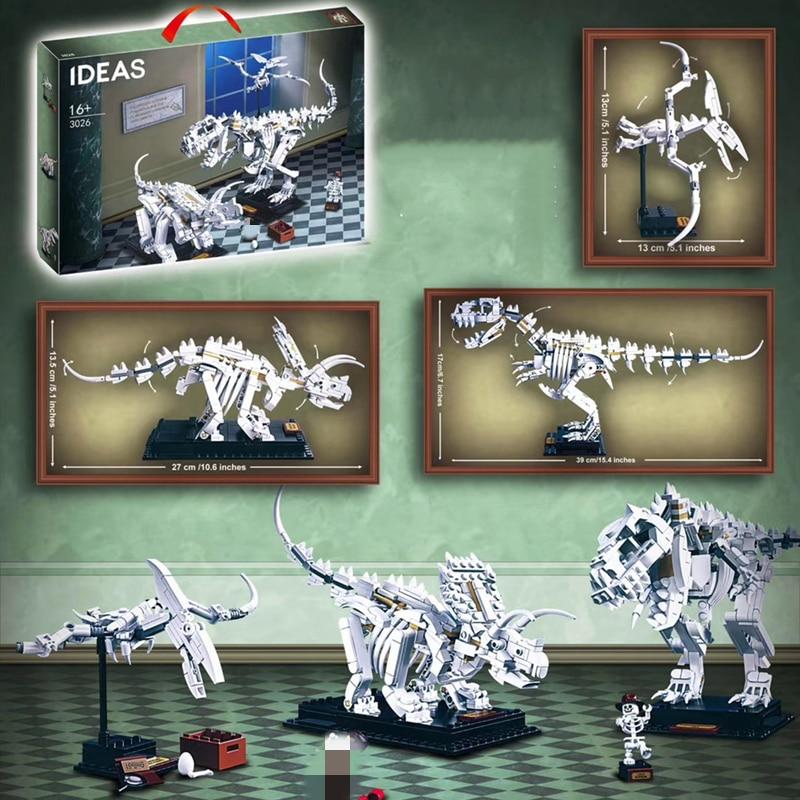 Ideas 3026 Dinosaur Fossil Tyrannosaurus Rex Compatible MOC 21320