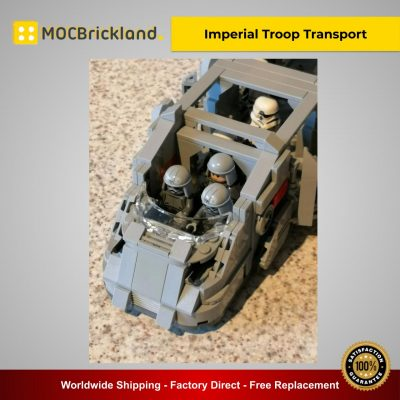Imperial Troop Transport MOC 38045 Star Wars Designed By Papaglop With 741 Pieces