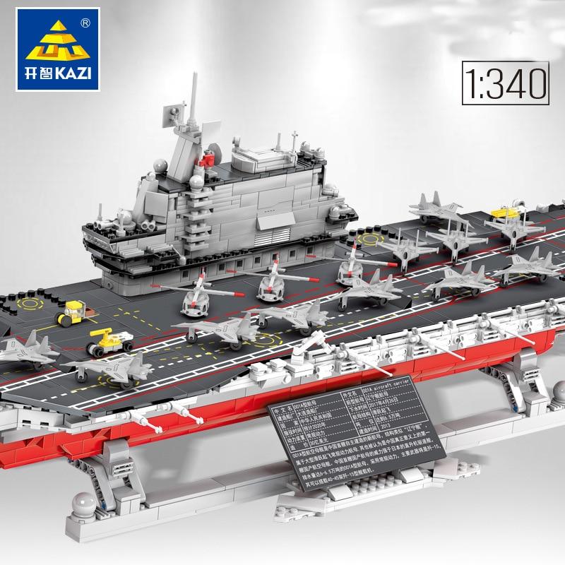 KAZI 10003 001A aircraft carrier collection series 1: 340
