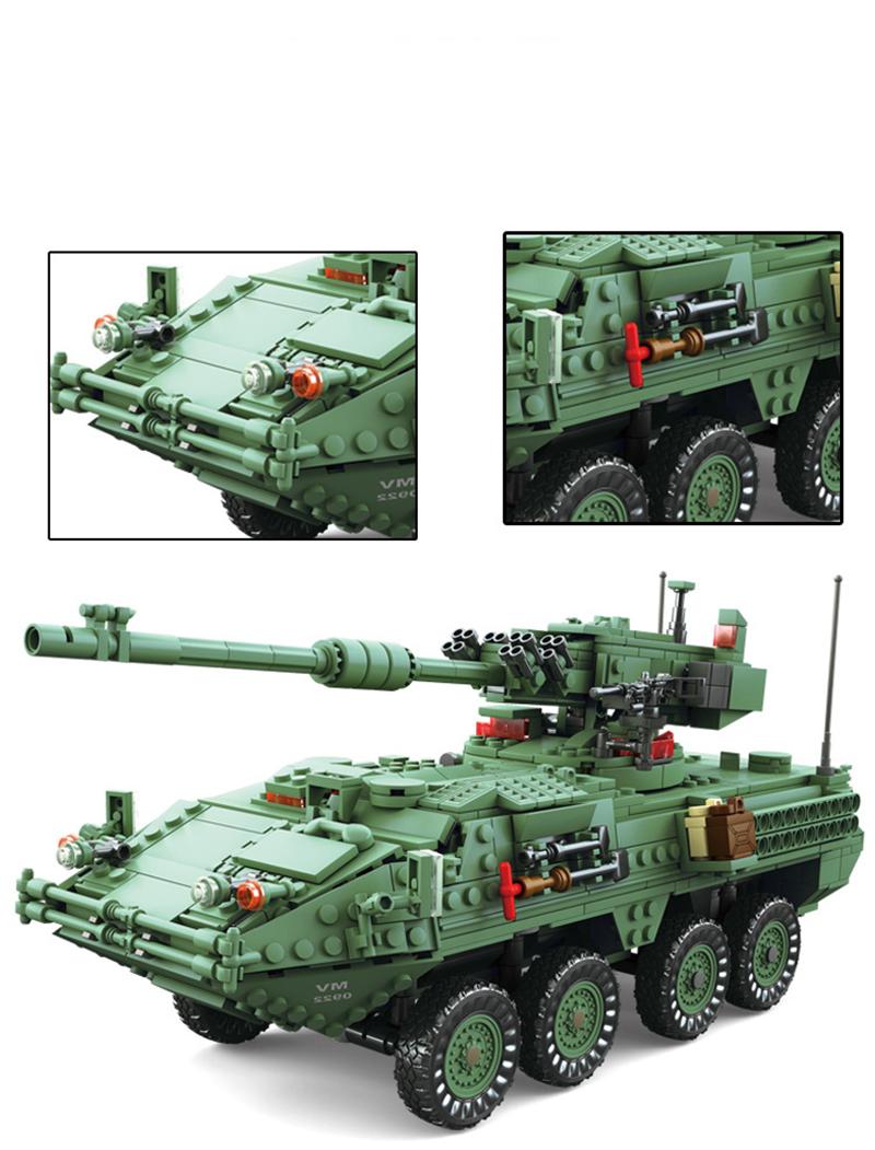 KAZI KY10001 STRYKER MGS-M1128 MGS