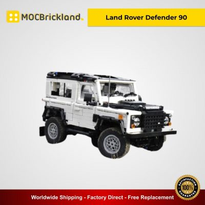 Land Rover Defender 90 MOC 49183 Technic Designed By ArsMan064 With 1715 Pieces