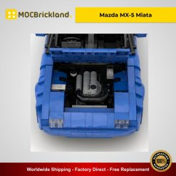 Mazda MX-5 Miata MOC 27076 Technic Designed By PsychoWard666 With 1352 Pieces