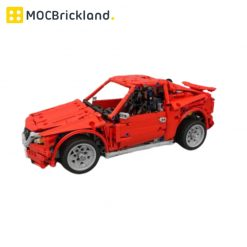 Mazda Race Car MOC 4682 Technic Designed By KevinMoo with 1391 pieces