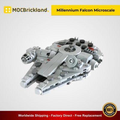 Millennium Falcon Microscale MOC 31012 Star Wars Designed By Riskjockey With 227 Pieces