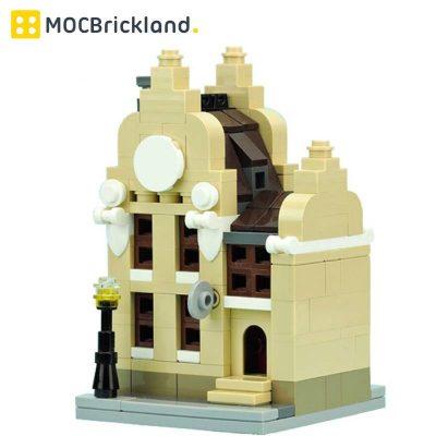 Mini Clock Workshop Building MOC 10779 City Designed By De_Marco With 244 Pieces