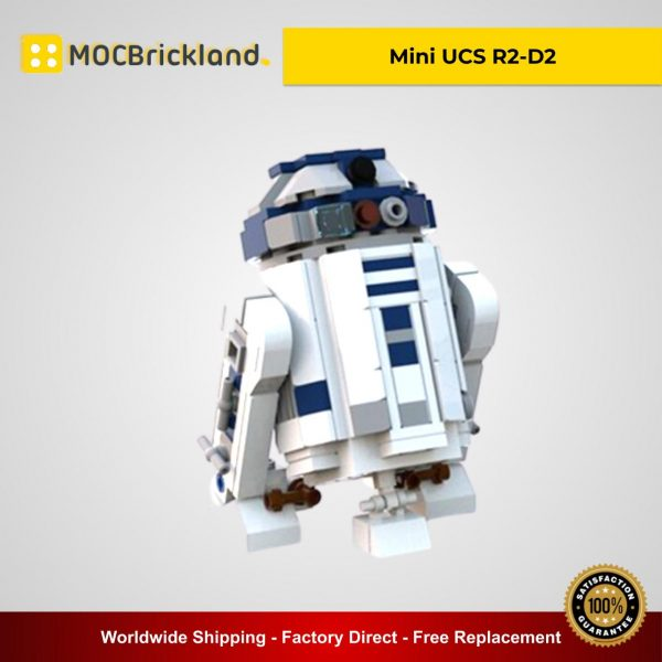 Mini UCS R2-D2 MOC 6266 Star Wars Designed By Miro With 248 Pieces