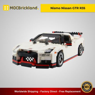 Nismo Nissan GTR R35 MOC 20518 Technic Designed By Firas Legocars With 1006 Pieces