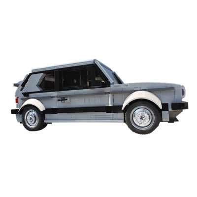 Volkswagen Golf MK1 GTI Technic MOC-20814 by hasskabal WITH 1283 PIECES