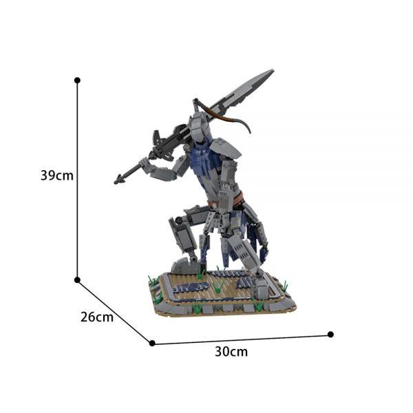 Dark Souls MOC: Artorias the Abysswalker Creator MOC-23633 by SkywardBrick WITH 773 PIECES