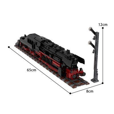 German Class 52.80 Steam Locomotive Technic MOC-25554 by TOPACES with 2541 pieces