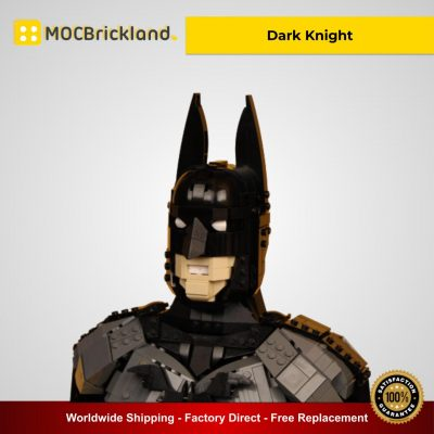 Dark Knight MOC 28045 Super Heroes Designed By Timofey_Tkachev With 1323 Pieces
