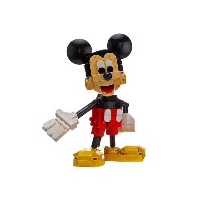Mickey Mouse Movie MOC-28248 by buildbetterbricks WITH 256 PIECES