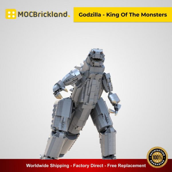 Godzilla - King Of The Monsters MOC 31918 Creator Designed By LordofAngmarMB With 2435 Pieces