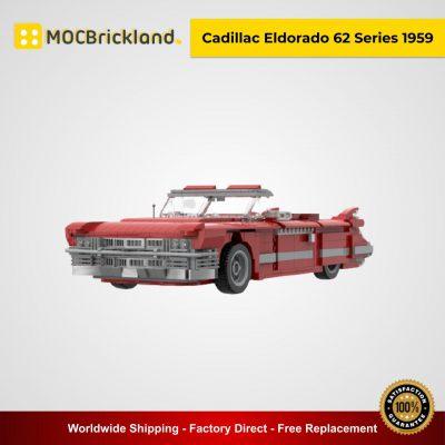 Cadillac Eldorado 62 Series 1959 MOC 34818 Technic Designed By Gabizon With 1172 Pieces