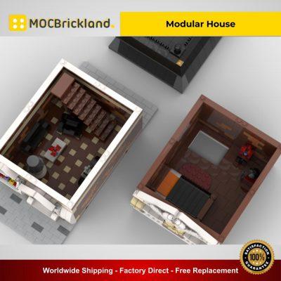 Modular House MOC 35957 Modular Buildings Designed By Gabizon With 1622 Pieces