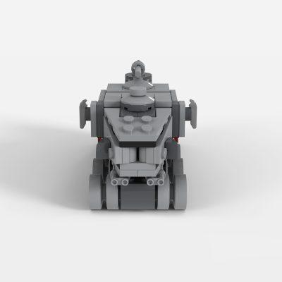 A6-Juggernaut (Clone Turbo Tank) Micro Fleet Series Star Wars MOC-36873 by 2bricksofficial WITH 148 PIECES