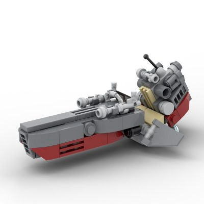 Clone Speeder Star Wars MOC-37612 by ohsojang WITH 104 PIECES