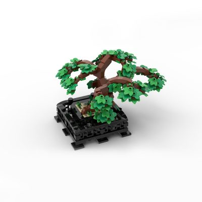 Bonsai Creator MOC-38229 by RollingBricks WITH 401 PIECES