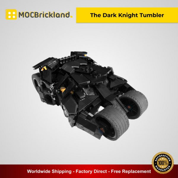 The Dark Knight Tumbler MOC 40543 Movie Designed By Riskjockey With 516 Pieces