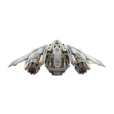 Battlefield Arial Assault Transport Star Wars MOC-45675 by Tjs_Lego_Room WITH 1595 PIECES