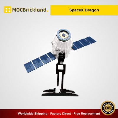 SpaceX Dragon MOC 4573 Creator Designed By Perijove With 817 Pieces