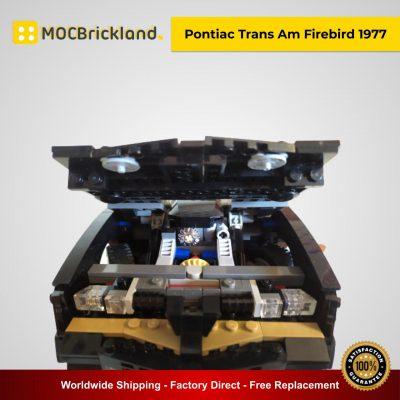 Pontiac Trans Am Firebird 1977 MOC 46579 Technic Designed By Firas-legocars With 1394 Pieces