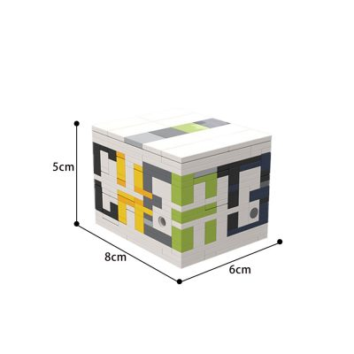 C3 (a level 10 puzzle box) Creator MOC-53062 by cheat3 puzzles WITH 329 PIECES