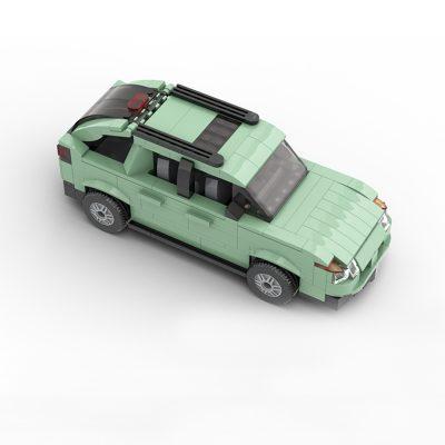 Walter White's Pontiac Aztek Technic MOC-69068 by OneBrickPony WITH 355 PIECES