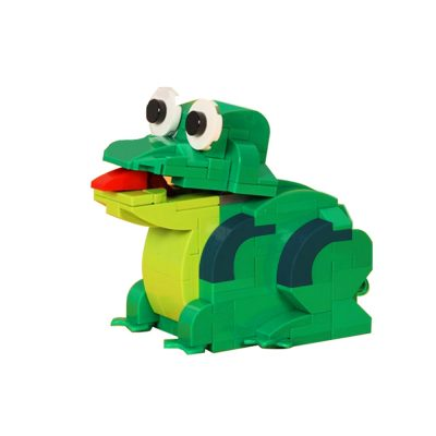 Mechanical Frog Creator MOC-72315 by JKBrickworks WITH 173 PIECES