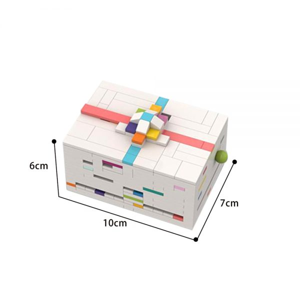 Giftcard Box (a level 8 puzzle box) Creator MOC-77129 by cheat3 puzzles WITH 342 PIECES