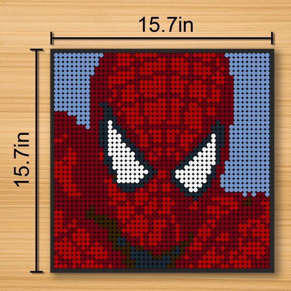 Spiderman Pixel Art Movie MOC-90148 WITH 2304 PIECES