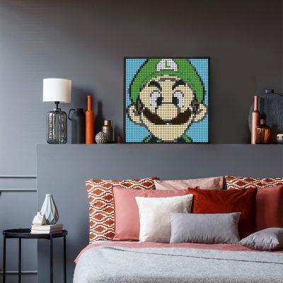 Luigi Pixel Art Movie MOC-90152 WITH 2304 PIECES