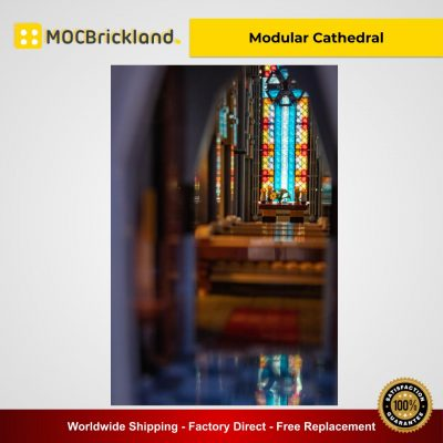 Modular Cathedral MOC 29962 Modular Building Designed By Das-Felixle With 21759 Pieces