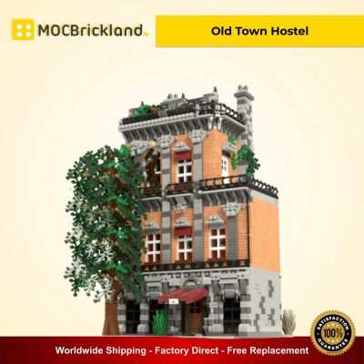 Old Town Hostel MOC 46504 Modular Building Designed By Stebrick With 5283 Pieces