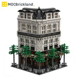 Paris Boulangerie Studio MOC 40476 Modular Building Designed By tkel86 With 4204 Pieces