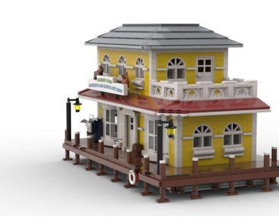 Pet Shop MOC 39949 Modular Building Designed By Jepaz With 2790 Pieces