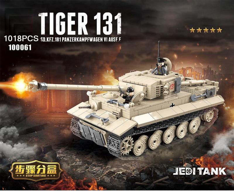 QUANGUAN 100061 Tiger Tank 131