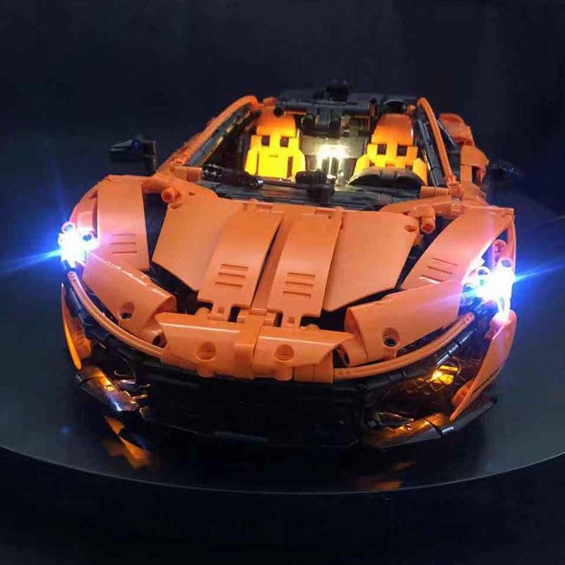 Rebrickable MOC-16915 McLaren P1 Hypercar 1:8