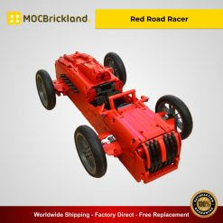 Red Road Racer MOC 5370 Technic Designed By Technicbasics With 888 Pieces