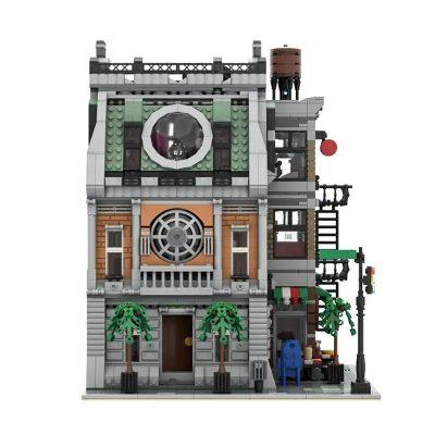 Sanctum Sanctorum MOC 37592 Modular Building Designed By ZeRadman With 3439 Pieces