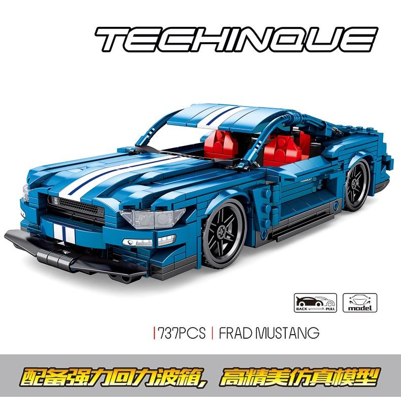 SEMBO 701710 Ford Mustang Car
