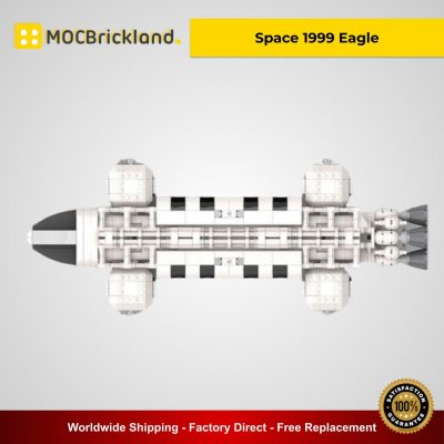 Space 1999 Eagle MOC 25026 Creator Designed By Divinglog With 1137 Pieces