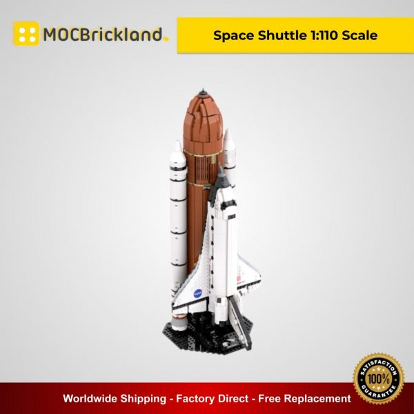 Space Shuttle 1:110 Scale MOC 46228 Creator Designed By KingsKnight With 2122 Pieces