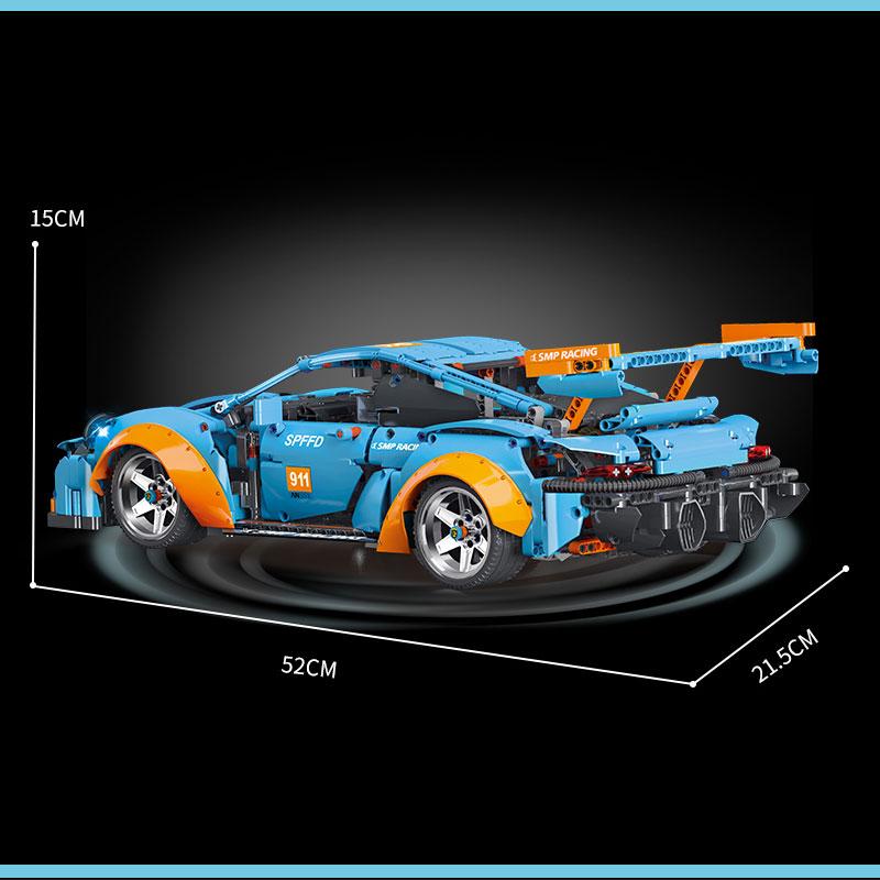 TECHNICIAN K Box K-10216 Porsche 911 Super Car 1:10