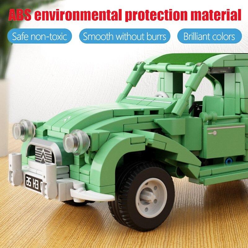 TECHNICIAN SEMBO 705500 Green French Citroen 2CV