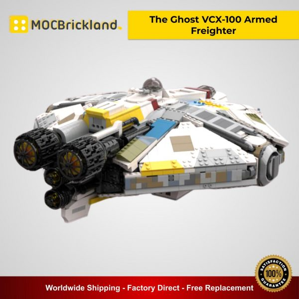 The Ghost VCX-100 Armed Freighter MOC 37032 Star Wars Designed By ClyeChestnut