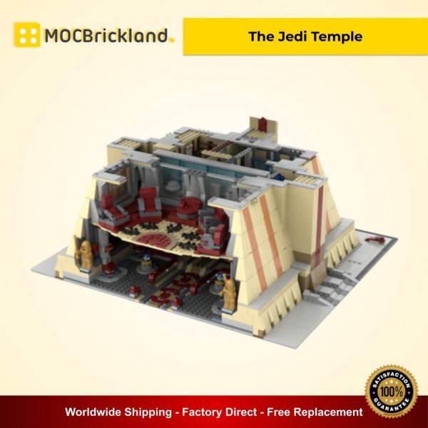 The Jedi Temple MOC 40522 Star Wars Designed By ZeRadman With 3421 Pieces
